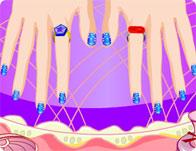 les ongles de salia